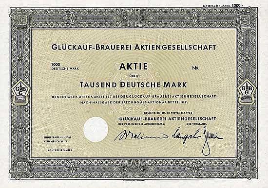 Glückauf-Brauerei AG