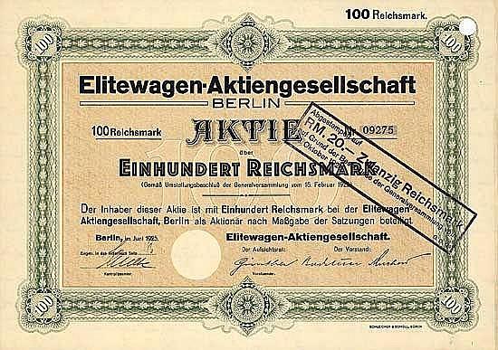 Elitewagen AG