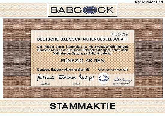 Deutsche Babcock AG