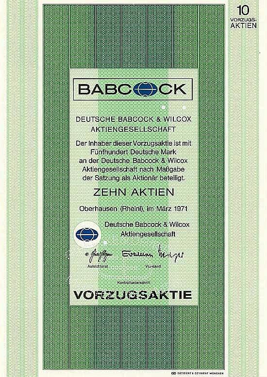 Deutsche Babcock & Wilcox AG