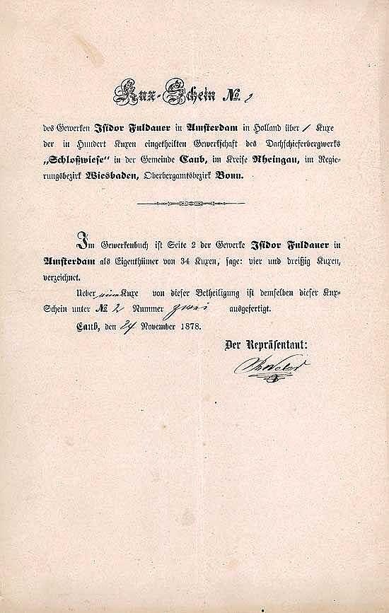 "Dachschieferbergwerk ""Schloßwiese"""