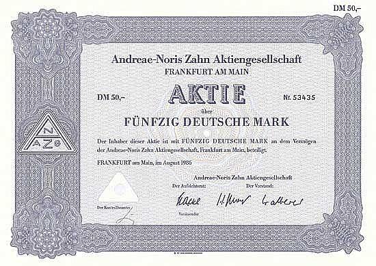 Andreae-Noris Zahn AG