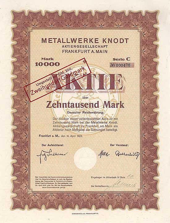 Metallwerke Knodt AG