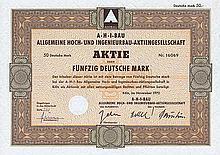 A.H.I-Bau Allgemeine Hoch- und Ingenieurbau-AG