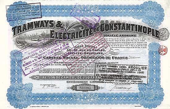 Tramways & Électricité de Constantinople S.A.