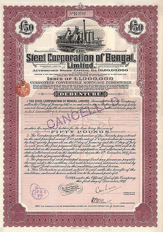 Steel Corporation of Bengal, Ltd.