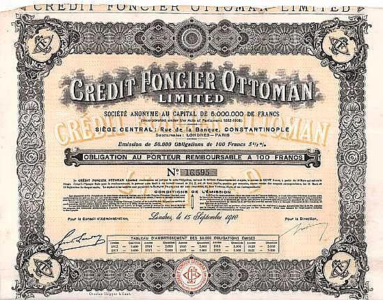 Crédit Foncier Ottoman Ltd.
