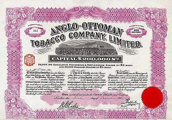 Anglo-Ottoman Tobacco Co.