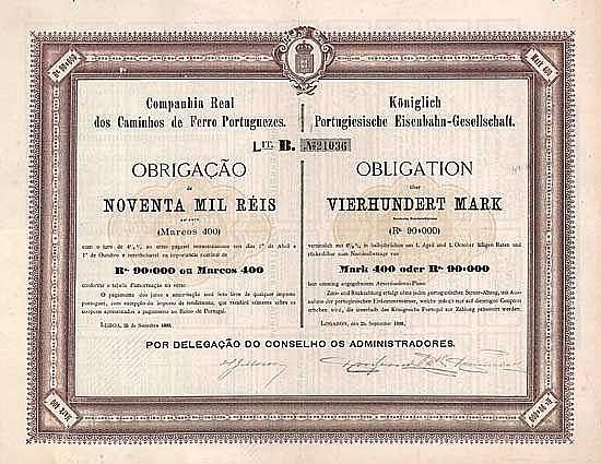 Königlich Portugiesische Eisenbahn-Gesellschaft