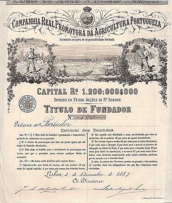 Cia. Real Promotora da Agricultura Portugueza