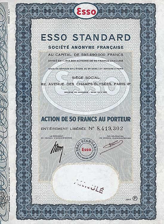 ESSO STANDARD S.A. Francaise