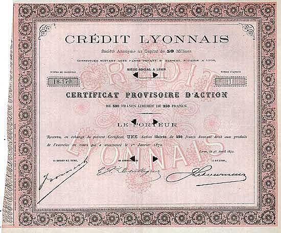 Crédit Lyonnais S.A.