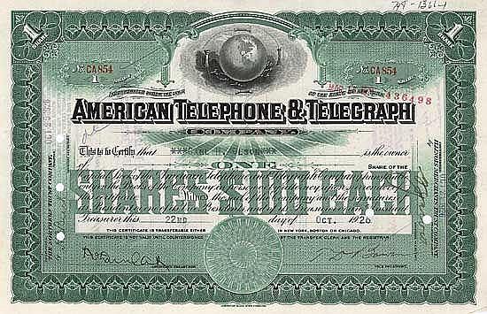 American Telephone & Telegraph
