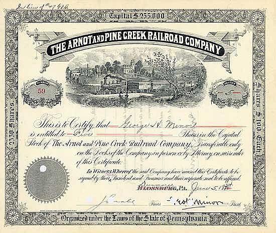 Arnot and Pine Creek Railroad