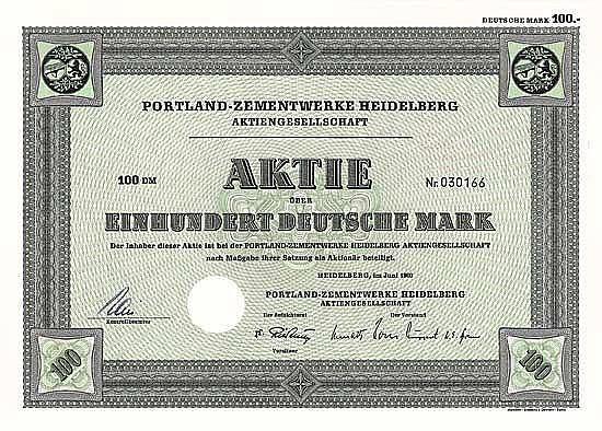 Portland-Zementwerke Heidelberg AG
