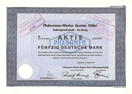 Phänomen-Werke Gustav Hiller AG