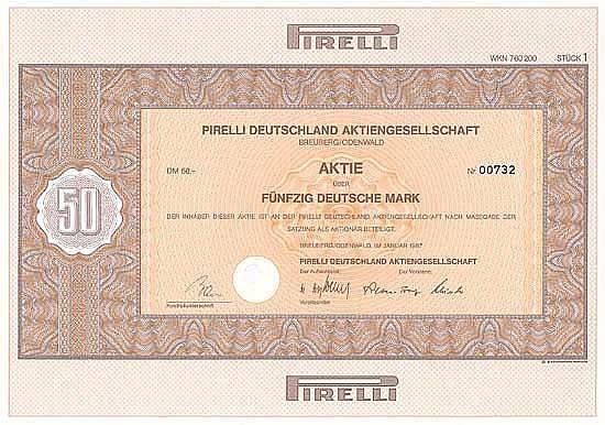 Pirelli Deutschland AG