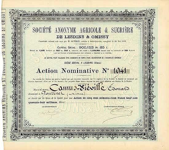 S.A. Agricole & Sucière de Lesdins & Omissy