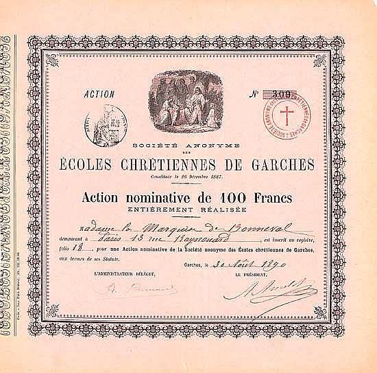 S.A. des Écoles Chrétiennes de Garches