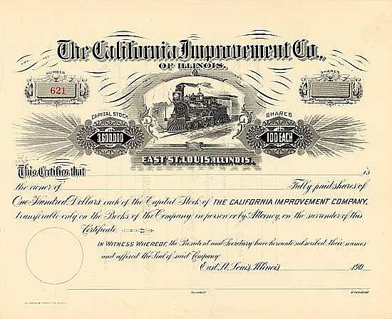 California Improvement Co. of Illinois