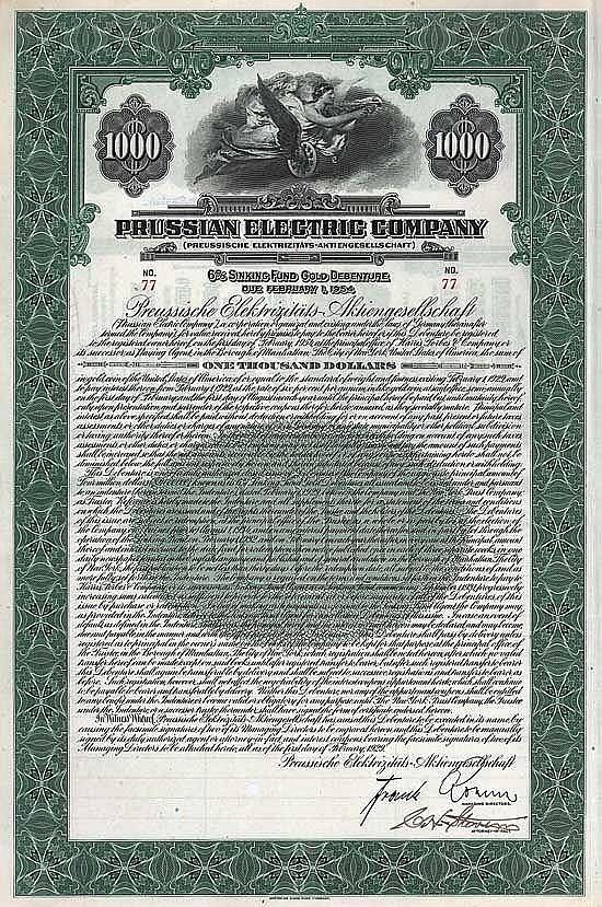 Preussische Elektrizitäts-AG (Prussian Electric Company)