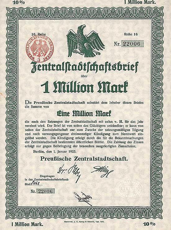 Preußische Zentralstadtschaft