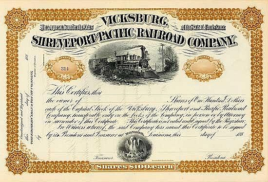 Vicksburg, Shreveport & Pacific Railroad