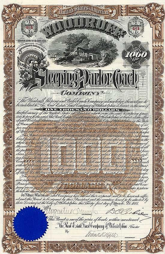 Woodruff Sleeping and Parlor Coach Co.