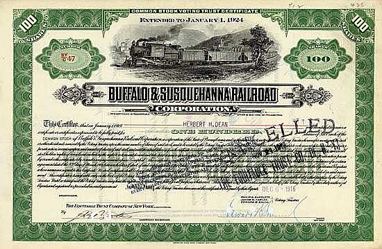 Buffalo & Susquehanna Railroad