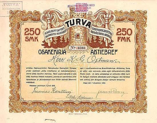Landthandlandenas Brandförsäkrings AB Turva