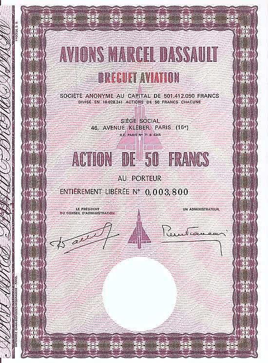 Avions Marcel Dassault Breguet Aviation S.A.