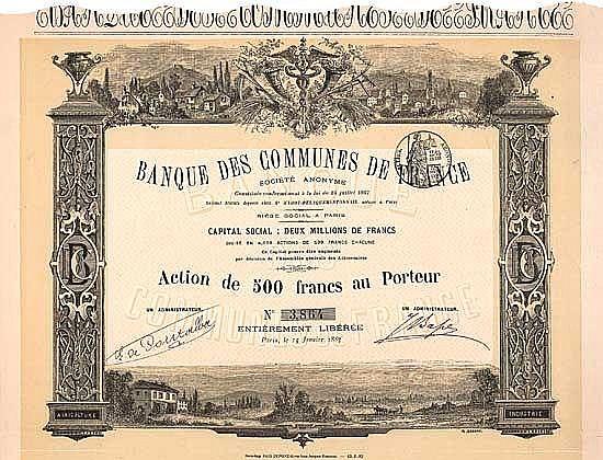 Banque des Communes de France S.A.