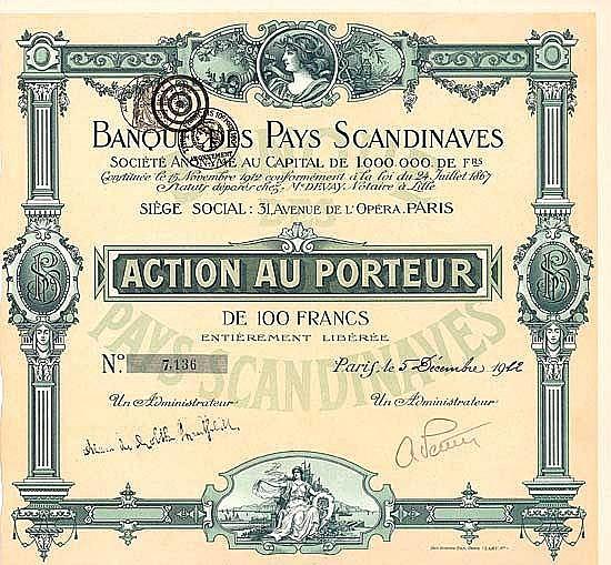 Banque des Pays Scandinaves S.A.