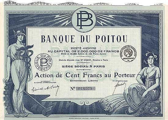 Banque du Poitou S.A.