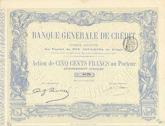 Banque Générale de Crédit S.A.