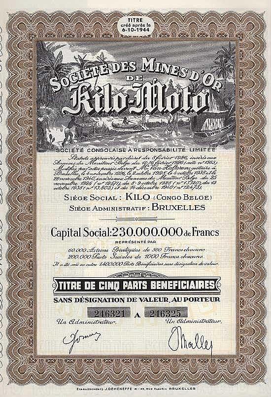 Société des Mines d'Or de Kilo-Moto