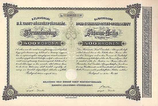Slavonische Local-Eisenbahn AG