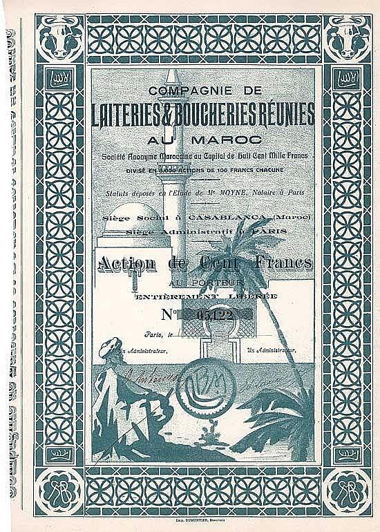Cie. de Laiteries & Boucheries Réunies au Maroc S.A.