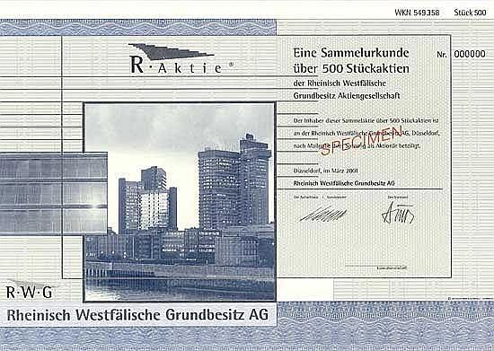 Rheinisch Westfälische Grundbesitz AG
