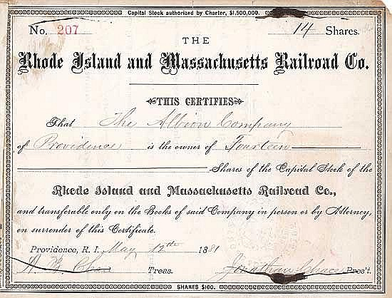 Rhode Island & Massachusetts Railroad