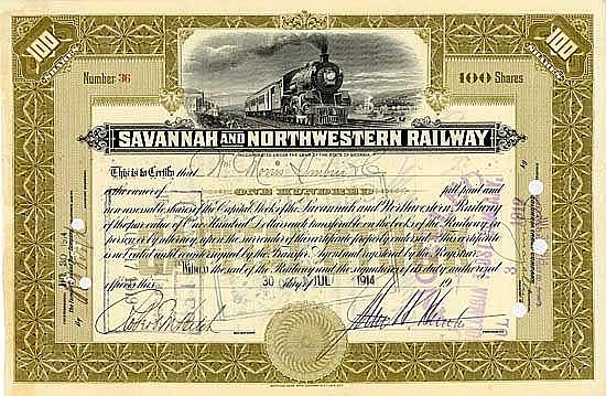 Savannah & Northwestern Railway