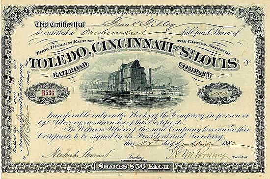 Toledo, Cincinnati & St. Louis Railroad