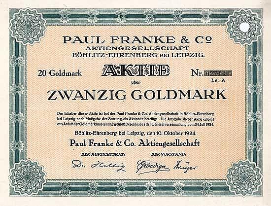 Paul Franke AG