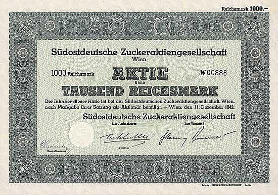 Südostdeutsche Zucker-AG