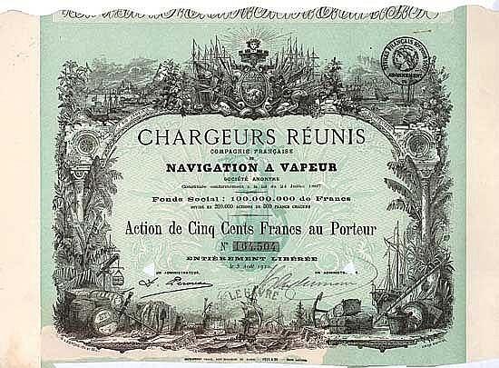Chargeurs Réunis S.A. Cie. Francaise de Navigation à Vapeur