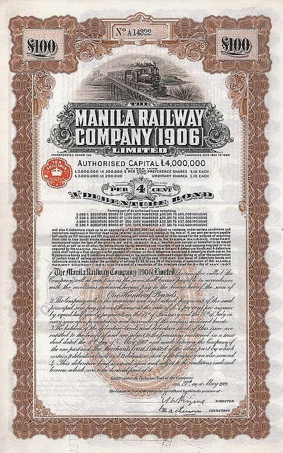 Manila Railway Co. (1906)