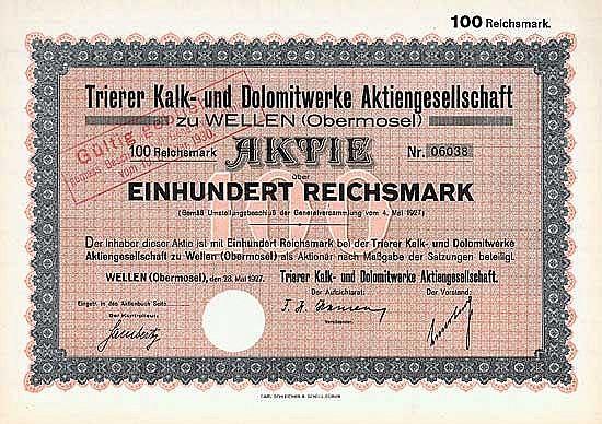 Trierer Kalk- und Dolomitwerke AG