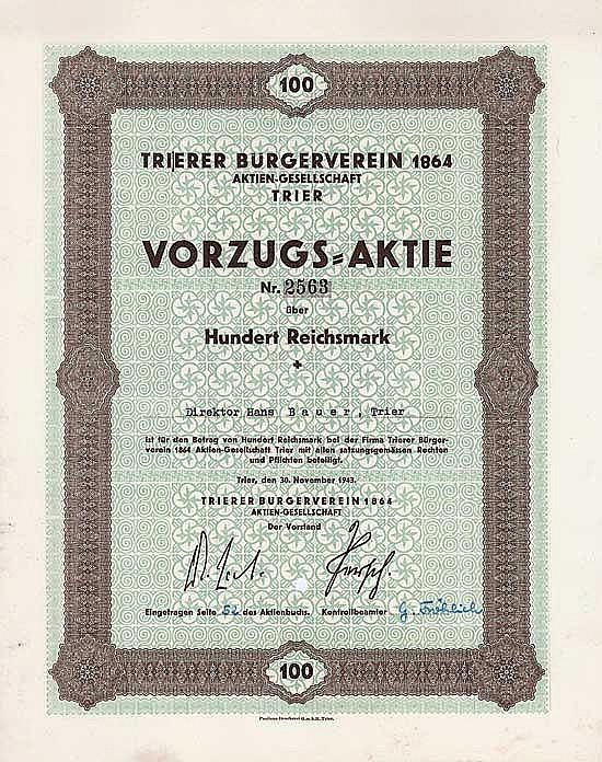 Trierer Bürgerverein 1864 AG