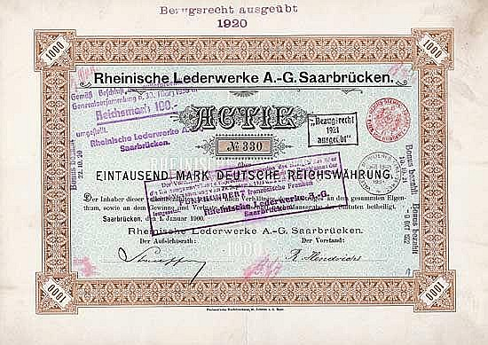 Rheinische Lederwerke AG