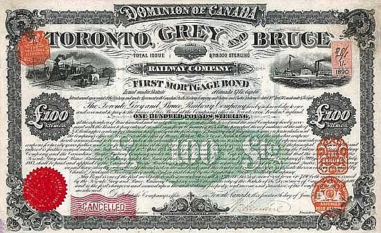 Toronto, Grey & Bruce Railway